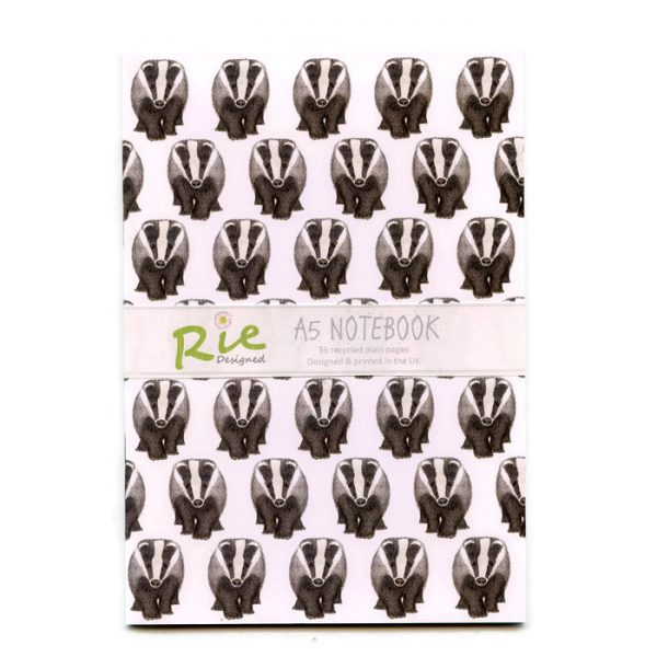 badger notebook