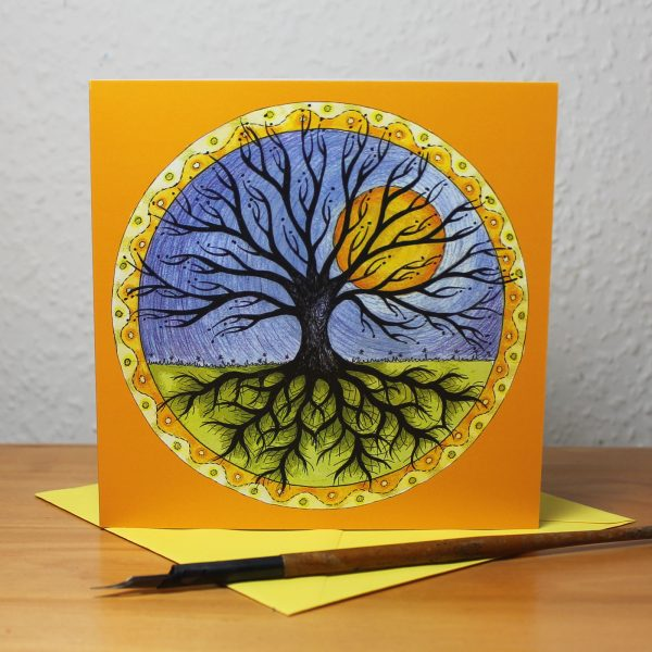 Tree of Life Greetings Card