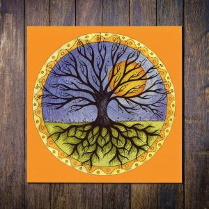 Tree of Life Greetings Card