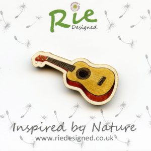Ukulele badge