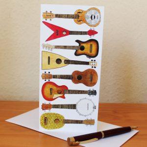 Ukuleles-card
