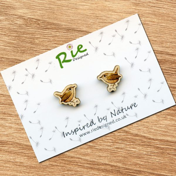 wren earrings