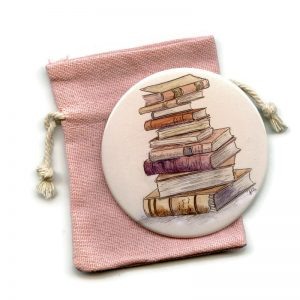 Books Pocket Mirror