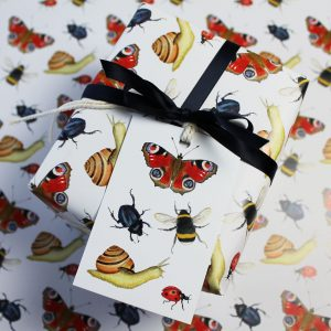 Bugs Insects gift wrap