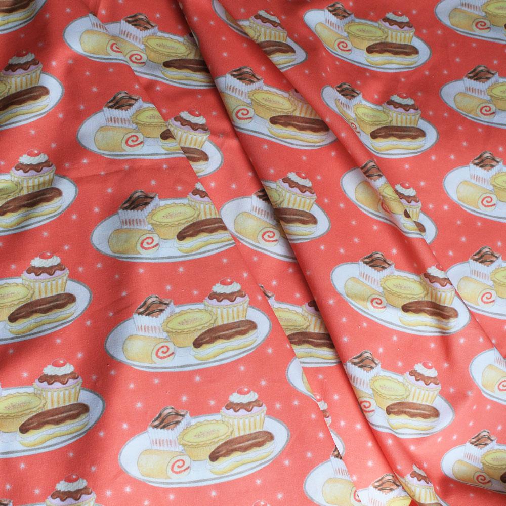 Cakes fabric