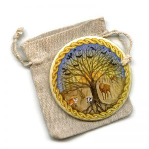 Celtic Forest Pocket Mirror