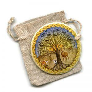 Celtic Forest Pocket Mirror