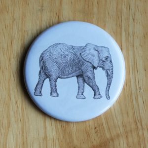 Elephant Pocket Mirror