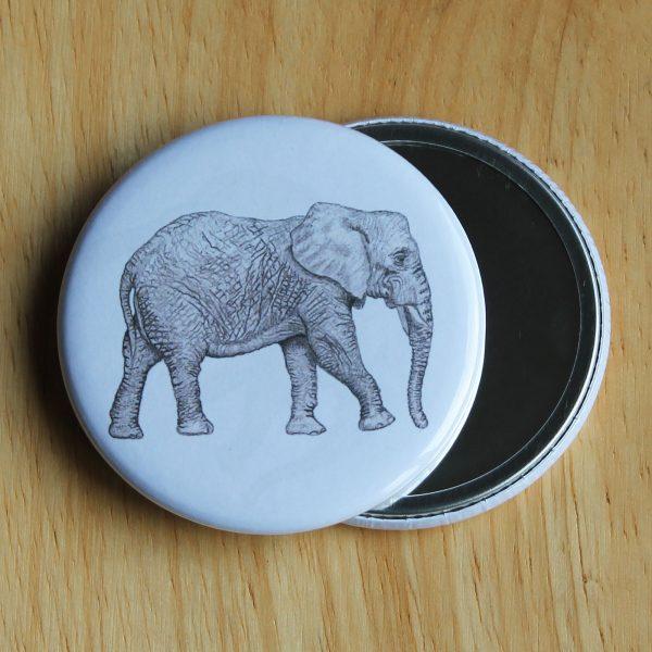 Elephant Pocket Mirror