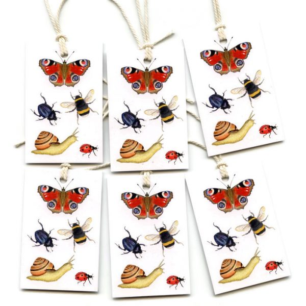 Bugs Insects gift tags