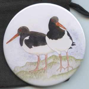 Oystercatcher Pocket Mirror