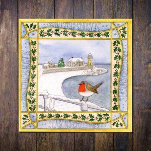 robin portpatrick christmas card