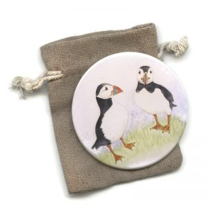 Puffin Pocket Mirror