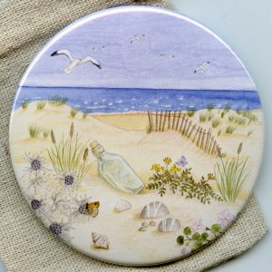 Scottish Coast Pocket Mirror