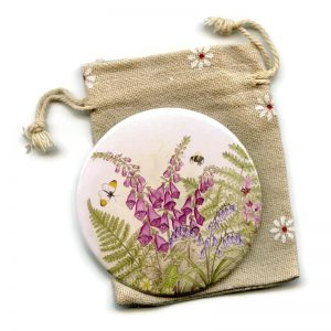 Scottish Hedgerow Pocket Mirror
