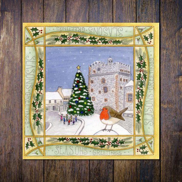 robin stranraer christmas card