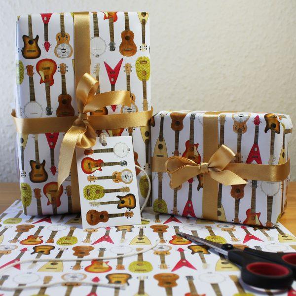 Ukulele Gift Wrap
