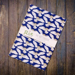 barn owl a5 notebook