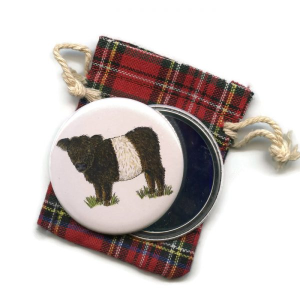 Beltie Pocket Mirror