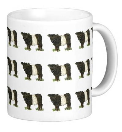 Beltie Mug
