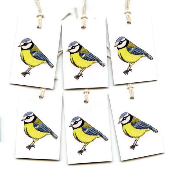 bluetit gift tags