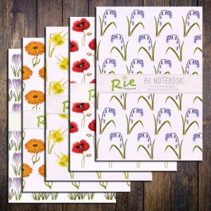 flower-notebook-set