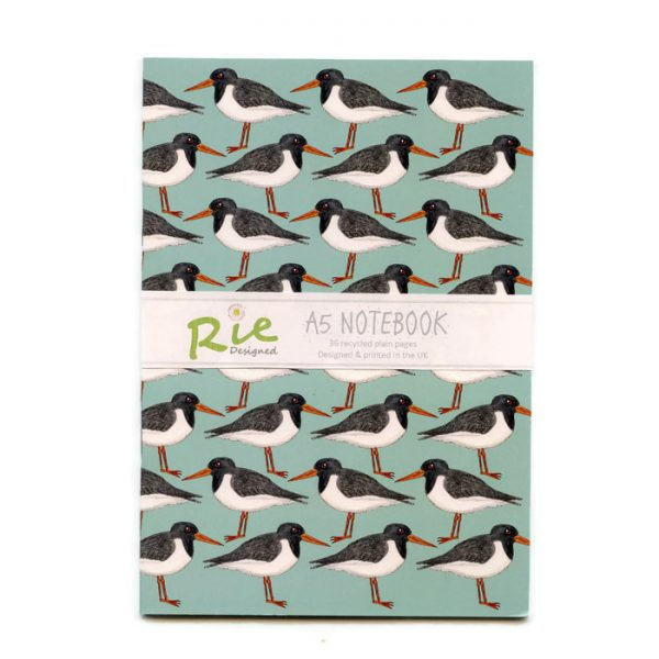oystercatcher A5 notebook