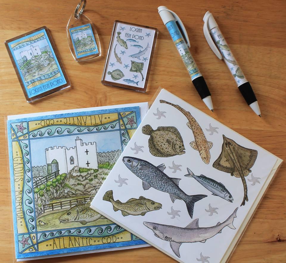 Logan Fishpond souvenirs