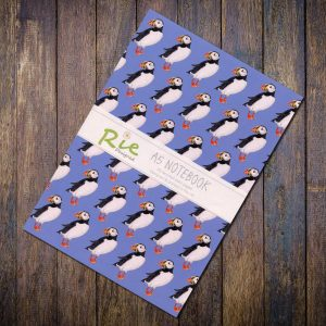 puffin A5 notebook