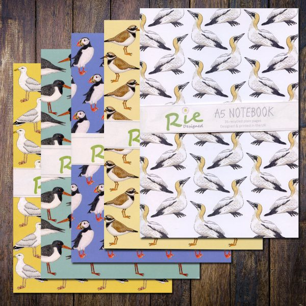 Seabird A5 notebooks