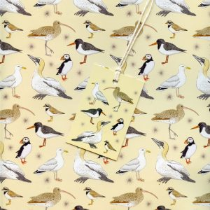 seabirds gift wrap