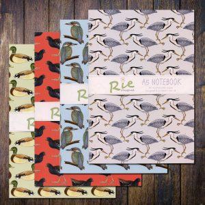 water birds a5 notebooks