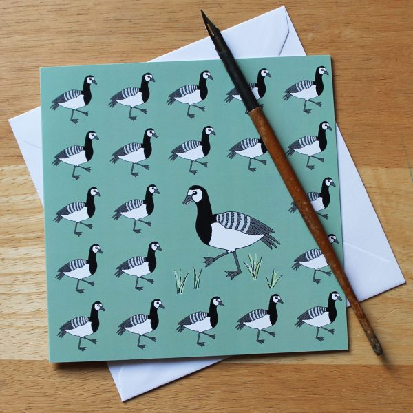 Barnacle Goose Greetings Card