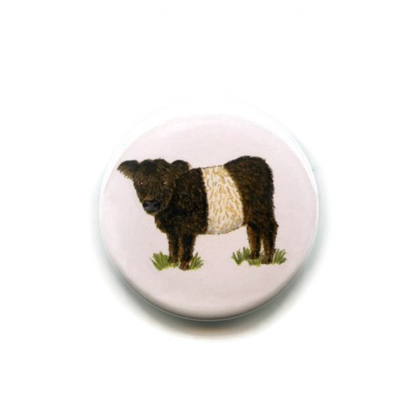 beltie button badge