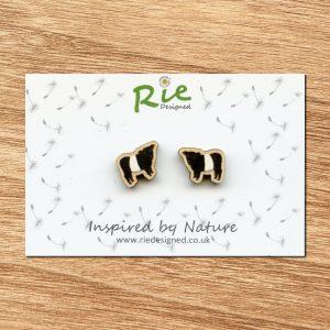 beltie stud earrings