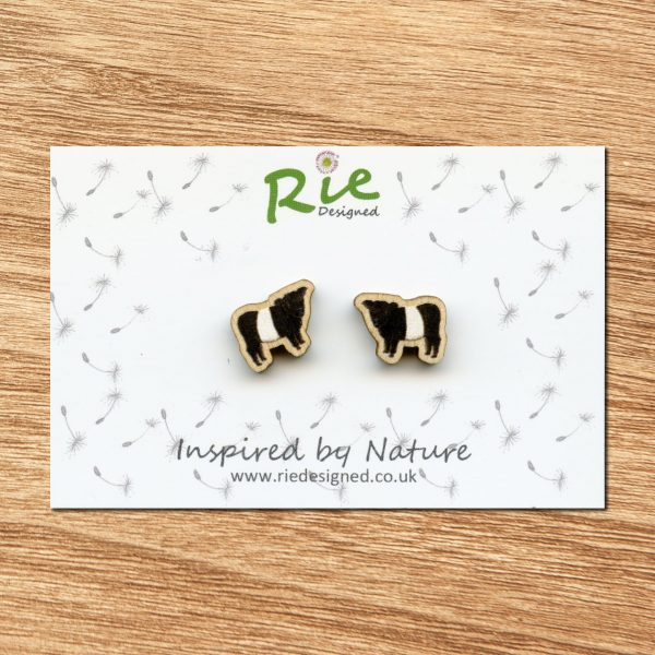 beltie stud earrings