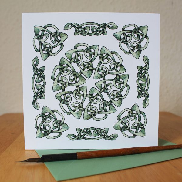 Celtic Knot Greetings Card