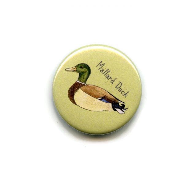 mallard duck fridge magnet
