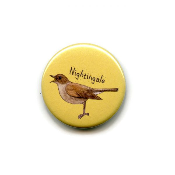 nightingale fridge magnet
