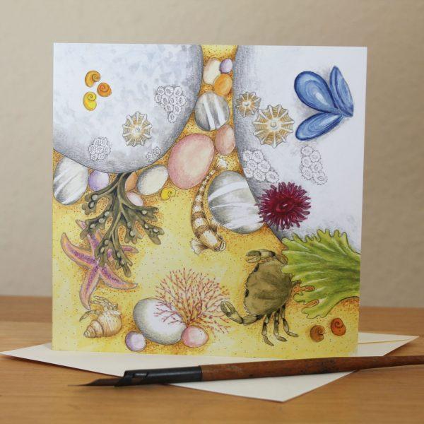 rockpool greetings card