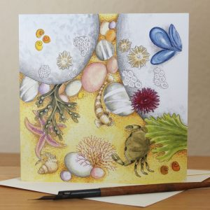 rockpool greetings card