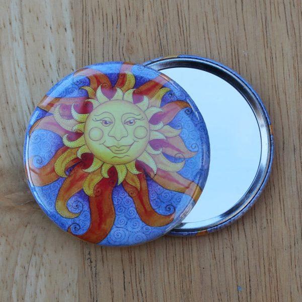 Sunshine pocket mirror