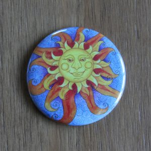 Sunshine pocket mirror
