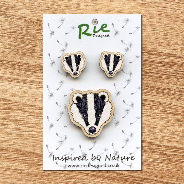 badger-face-set