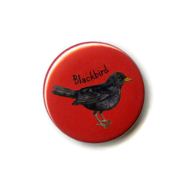 blackbird fridge magnet