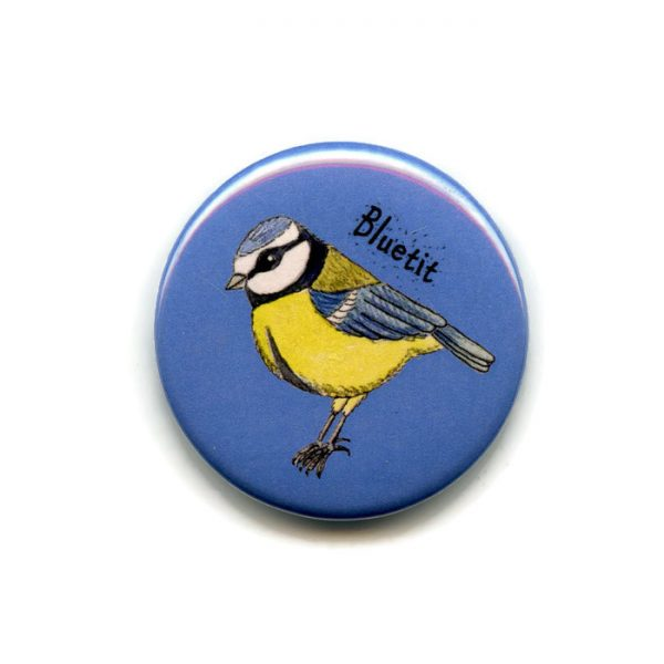 bluetit fridge magnet