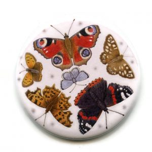 british butterflies pocket mirror 1
