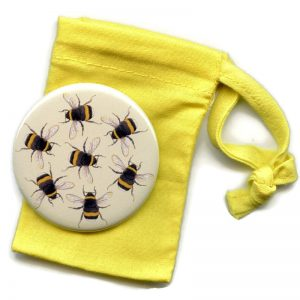 bumblebee pocket mirror