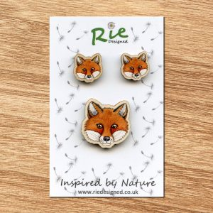 fox-face-jewellery set