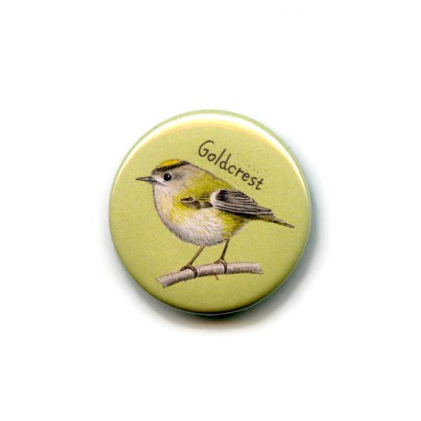 goldcrest fridge magnet